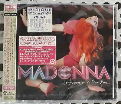 Madonna CD album Confessions on a dance floor + DVD video + booklet Tour Japan