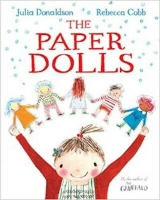 Julia Donaldson Story Book - THE PAPER DOLLS - NEW
