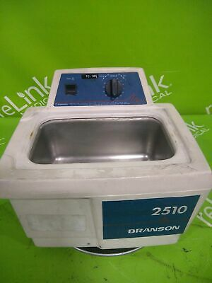 Branson Ultrasonics Corp 2510 Ultrasonic Bath Cleaner