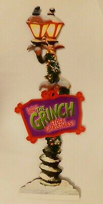 "47"" Store Display Dr. Seuss' How The Grinch Stole Christmas"