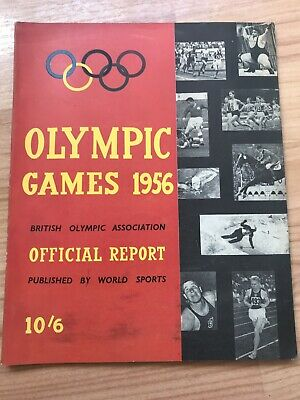 Melbourne 1956 Olympic Games Official Report British Olympic Association