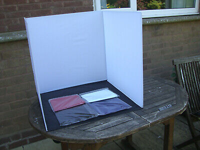 Portable Photographic Studio  with Back Cloths