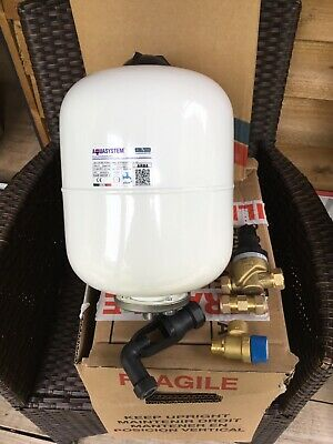 Aqua System Expansion Vessell with pressure reducing valve/non return valve