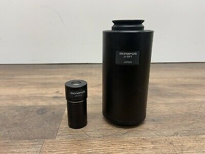 Olympus Miceroscope Camera Adapter Tube U-SPT PE 2.5x Eyepiece Relay Lens