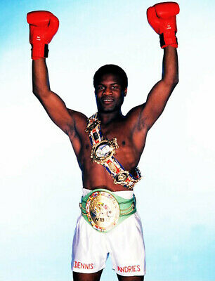 Dennis Andries Light-heavyweight champion Classic Fights On 4 DVDs