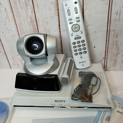 Sony PCS-1/1 Video Communications System Conference Tilt zoom Camera Remote