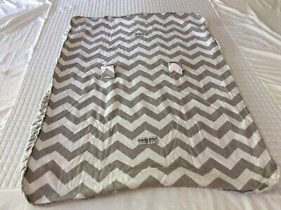 Carseat Canopy Baby Cover Chevron Pattern