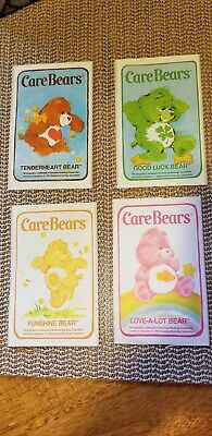 Vintage Care Bear Stickers From 1983