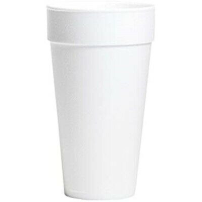 Drinking Cup WinCup 20 oz. -White Styrofoam Disposable, Case/500