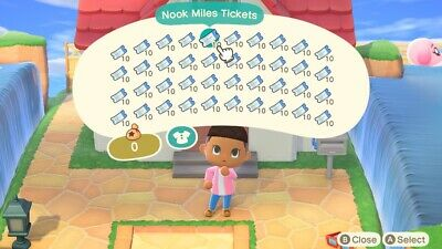 400 Nook Miles Tickets