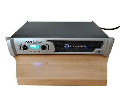 Crown XLS2500 2 Channel Power Amplifier 2500W max power Outstanding condition