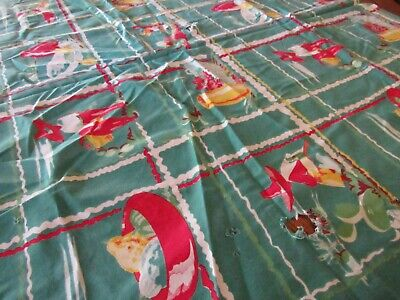 "Mexican Southwest Cotton Print Tablecloth - Cutter 54"" x 80"""