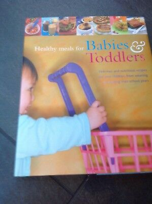 Marks And Spencers Healthy Eating For Babies And Toddlers Hardback Weaning Guide