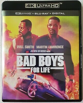 Bad Boys For Life 4K Ultra Hd Blu Ray 2 Disc Set  Free Worldwide Shipping