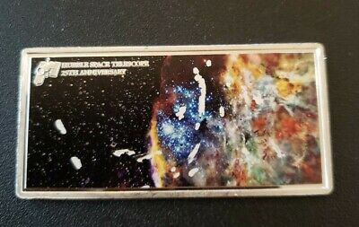 2015 25th Anniversary Of The Hubble Space Telescope Silver Coin . HAS SCRATHCHES