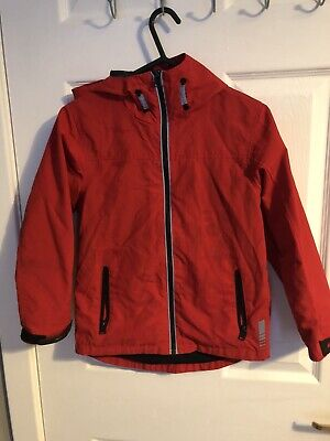 Boys Next Red Lightweight Jacket Age 7 Years