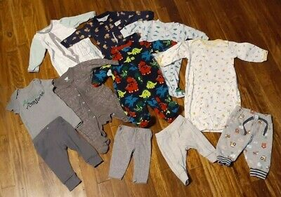 baby boy clothing lot // 0-3 months