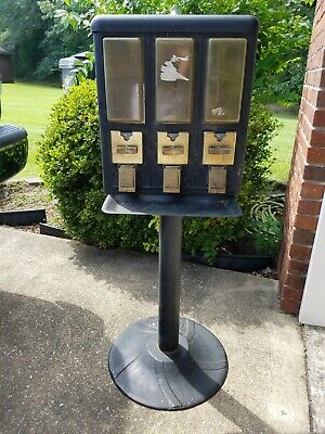Vintage Seaga Gumball Candy Peanut vending machine cast iron base