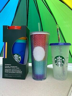 STARBUCKS Color Changing Cup / Iridescent Rainbow Cup 🌈
