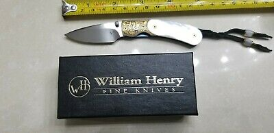 William Henry T09-Cambria Limited Edition #10 Folding Knife. Estate Sale.