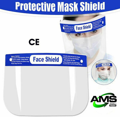 Face Protection Screen Face Cover Shield Protection Visor Accessories UK STOCKED