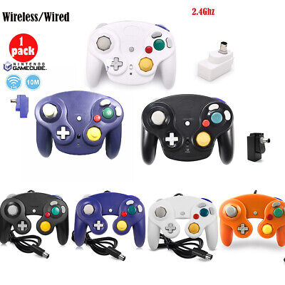 2X/1X Wireless/Wired Classic NGC Gamecube Controller Gamepad For Wii Video Game
