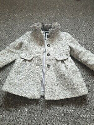 Girls Coat Age 3/4