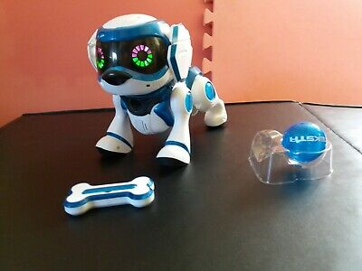 Teksta Blue Electronic Robot Puppy Dog Toy Interactive Pet Toy Quest