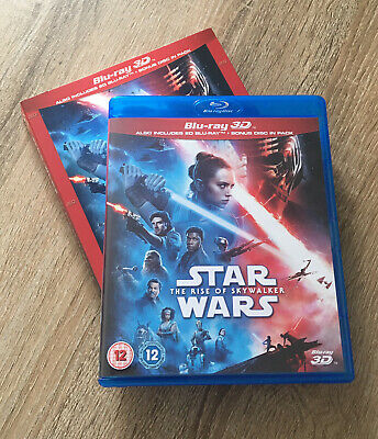 Star Wars: The Rise of Skywalker 3D Edition with 2D Edition Blu-ray Brand New