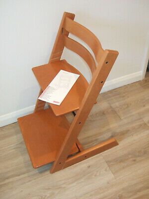 Stokke Tripp Trapp High Chair, 2008, Cherry Wood