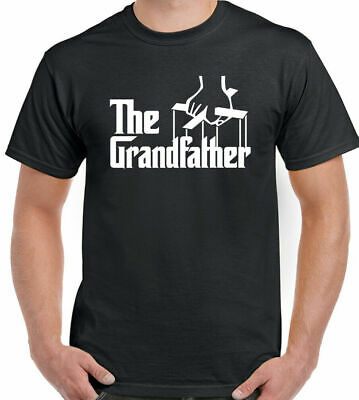 The Grandfather T-Shirt Mens Funny Fathers Day Present Dad Godfather Birthday L