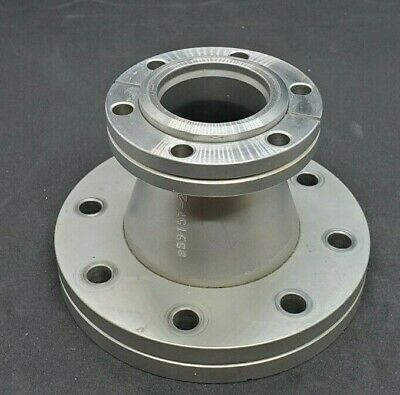 """Reducer Conical Nipple Conflat 4.5"""" to 2.75"""" Used Good Condition"""