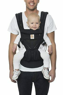 Ergobaby Omni 360 All Carry Positions Onyx Black Baby Carrier **Open Box**
