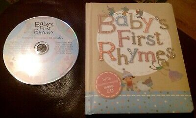 M&S Baby's First Rhymes Book With Music CD