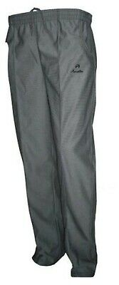Men's Henselite Sports Bowls Trousers - Grey - Clearance Sale Of Older Stock