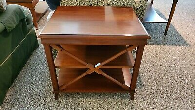 Harden Cherry Side or End Table Distressed Finish