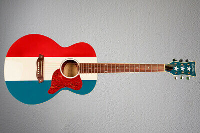 Buck Owens Red, White and Blue Guitar