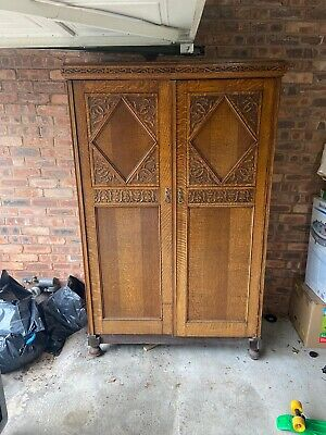 Beautiful Edwardian Wardrobe