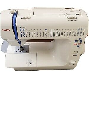 Toyota rs2000 sewing machine Quiltmaster 50
