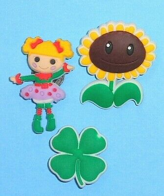Girl  Sunflower Clover Shoe Charms Shoe Pins Plugs Shoe Decorations