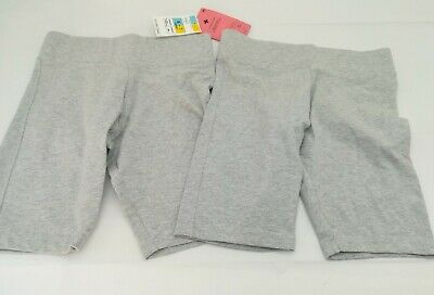BNWT 2 X Marks And Spencer Grey School Cotton Cycle Shorts Set Bundle