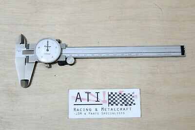 Mitutoyo Dial Caliper Vernier Stainless Steel 150mm , 0.05mm , Made in JAPAN
