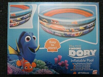 Disney Finding Dory Inflatable Swimming Paddling Pool Bankrupt Clearance Stock