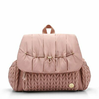 Happ Brand Levy Dusty Rose Diaper Bag Backpack w/ Limited Edition Dust Bag NWOT