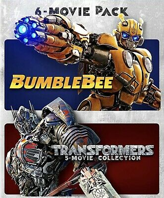 Bumblebee & The Transformers Ultimate 6-Movie Collection HD Vudu Instawatch ONLY