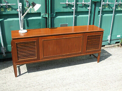 Vintage teak sideboard c1960, good quality, interesting design, good condition
