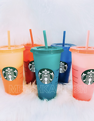 🌈 Starbucks Color Changing Summer Pride 2020 COLD Reusable Cup Venti 🌈