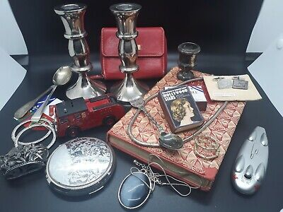 Vintage Job Lot of Collectables/Curios and Jewellery - Great Mix - NO BUY IT NOW