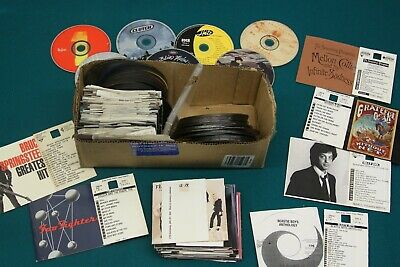Assorted Jukebox CD's with Title Pages  Rock  Approx 80