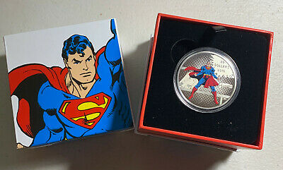 2016 Canada Superman The Man of Steel  $20 Silver Proof in original box